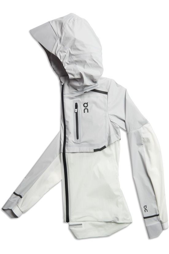 On Running Windstopper Weather-Jacket mid grey/off white