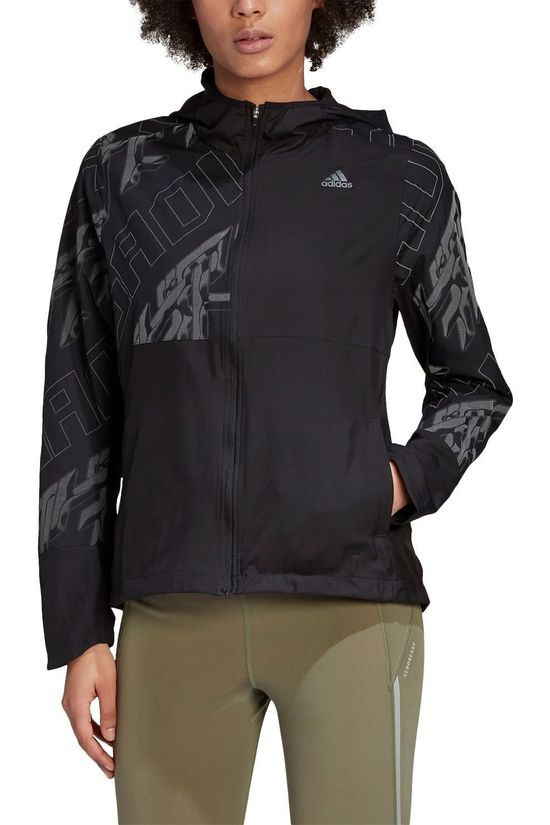 Adidas Windstopper Own The Run Jacket Zwart