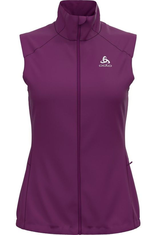 Odlo Windstopper Vest Zeroweight Warm purple