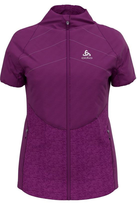 Odlo Coat Vest Millennium S-Thermic purple