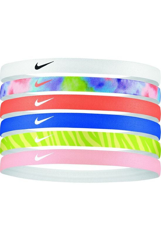 Nike Equipment Haarband Swoosh Sport Headbands Printed 6Pk 2.0 Assorti / Gemengd