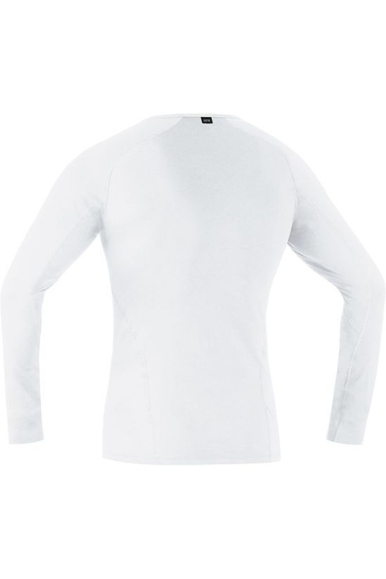 Gore Wear T-Shirt M Base Layer Long Sleeve Wit