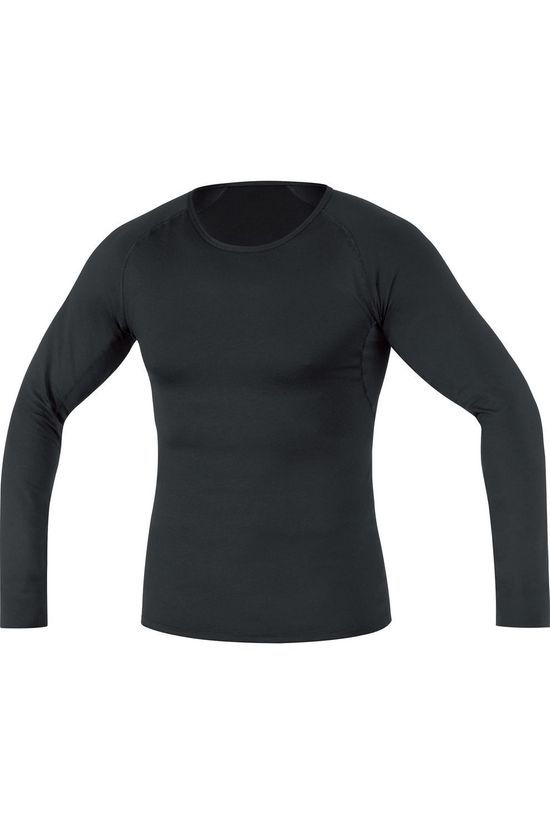 Gore Wear T-Shirt M Base Layer Thermo Long Sleeve Noir