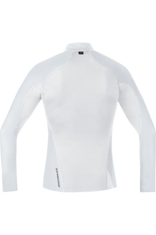 Gore Wear T-Shirt M Windstopper Thermo Turtleneck light grey/white