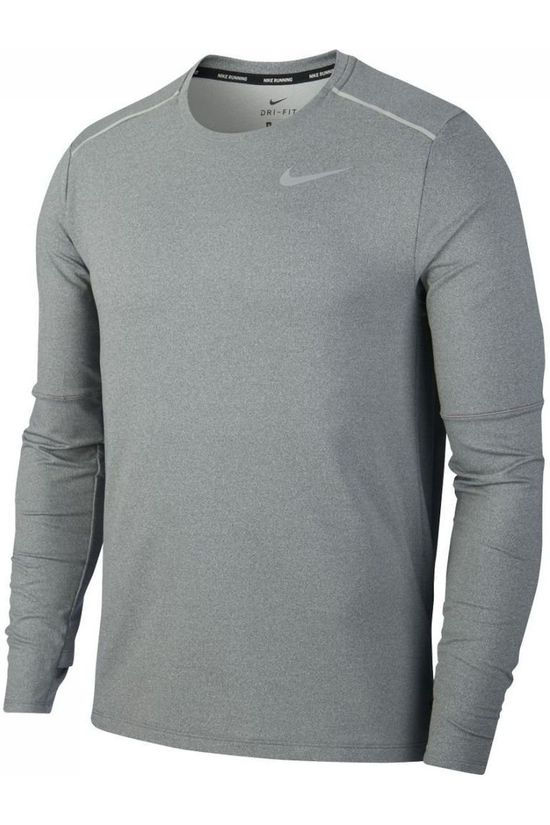 Nike T-Shirt Elmnt Crew 3,0 Dark Grey Mixture