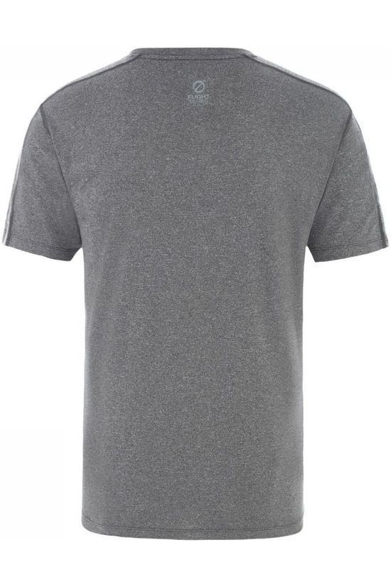 The North Face T-Shirt Men'S Flight Better Than Naked S/S Donkergrijs Mengeling