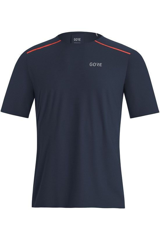 Gore Wear T-Shirt Contest dark blue/red