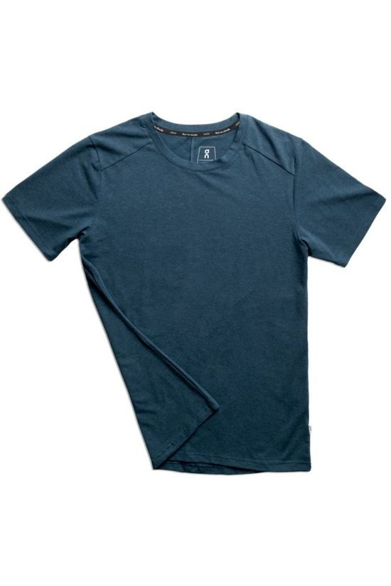 On Running T-Shirt On-T Navy Blue