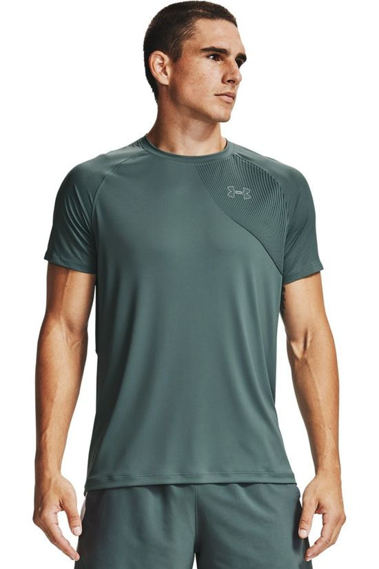 Under Armour T-Shirt Qualifier Iso Chill Ss blue