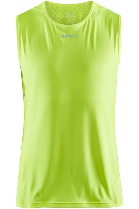 Craft Top Adv Essence Lime Green