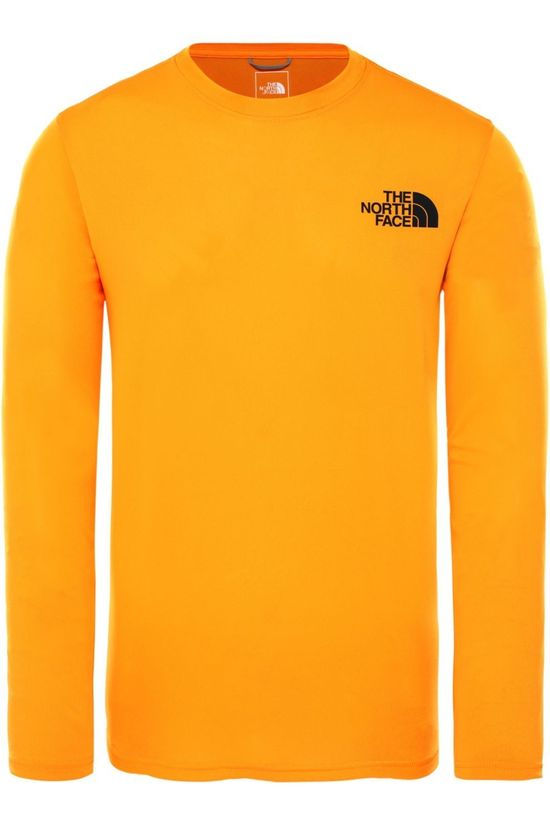 The North Face Pullover Reaxion Amp Cr mid yellow