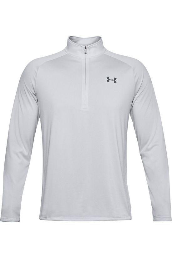 Under Armour Pull Tech 2.0 1/2 Zip Gris Foncé