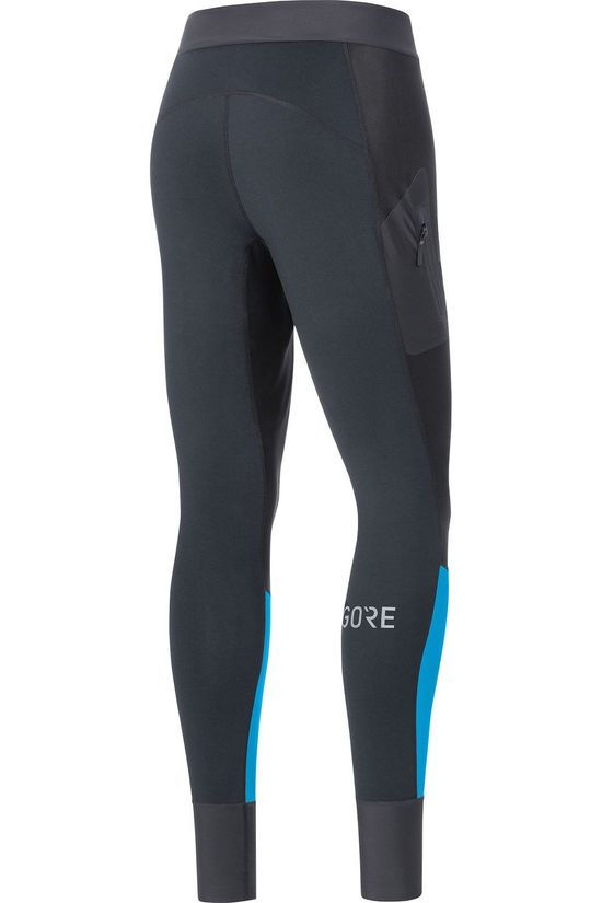 Gore Wear Tights X7 Partial Gore-Tex Infinium black/light blue