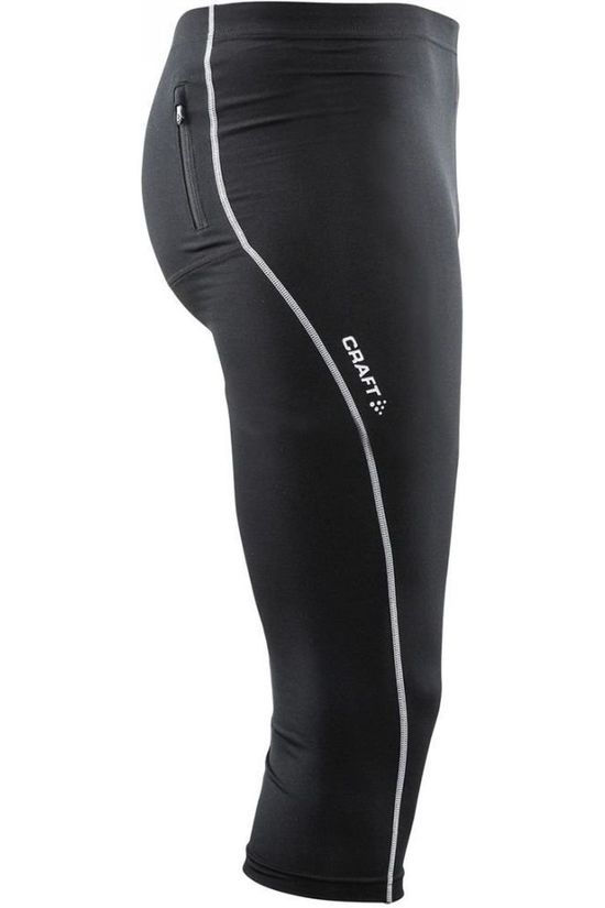 Craft Pantalon 3/4 De Sport Mind Knickers Noir