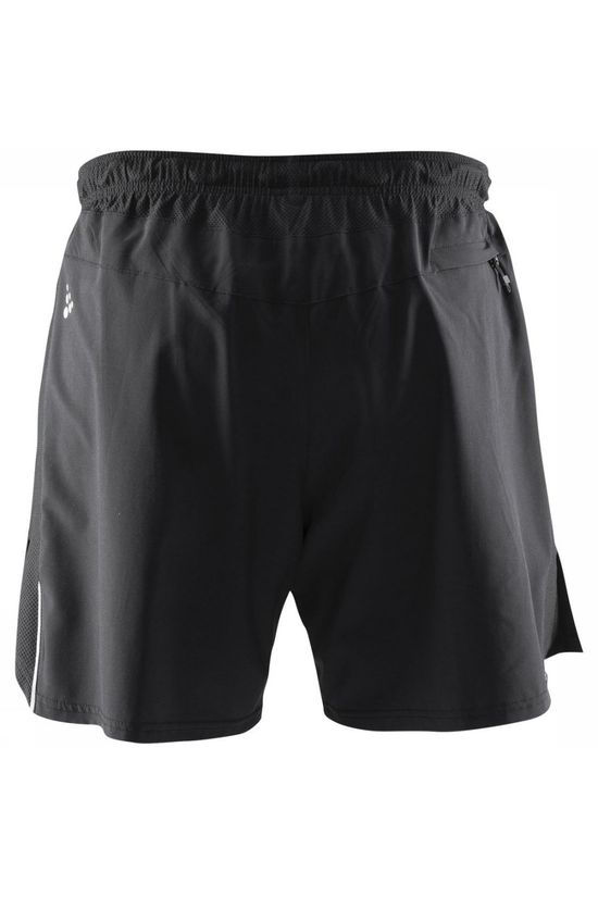 Craft Pantalon Joy Relaxed Shorts 2In1 Noir