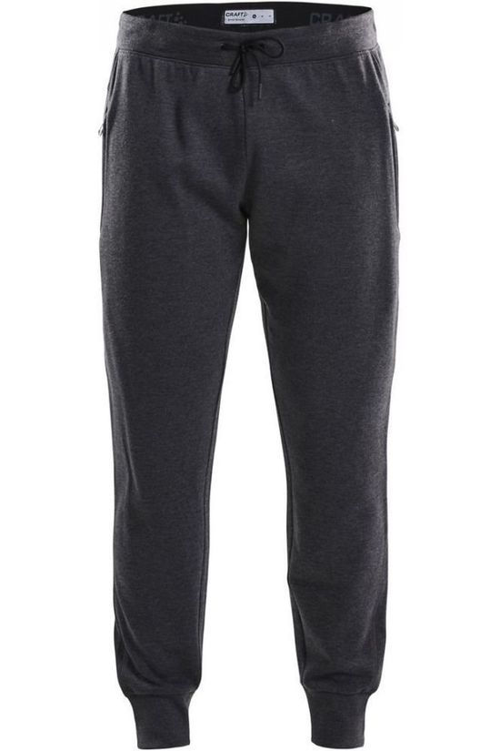 Craft Joggingbroek Slim Jooger Donkergrijs