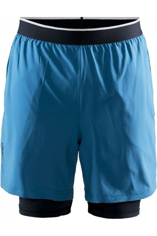 Craft Shorts Charge 2-In-1 blue