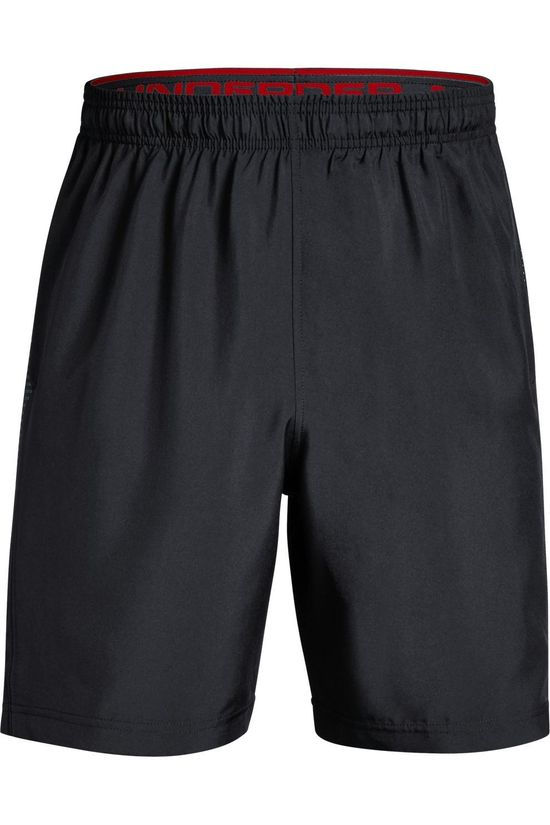 Under Armour Short Woven Graphic Zwart