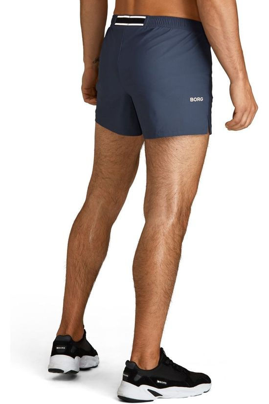 "Bjorn Borg Short M Night 4"" Bleu Indigo"