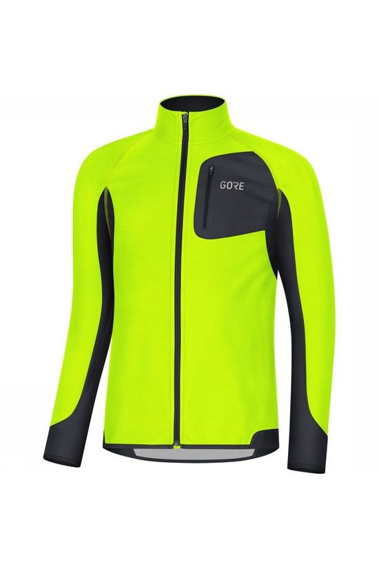 Gore Wear Windstopper R Partial Geel/Zwart