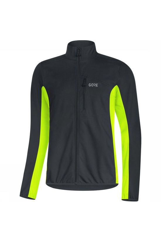 Gore Wear Windstopper C3 Classic Thermo black/yellow