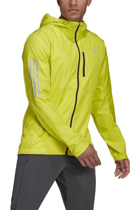 Adidas Windstopper Own The Run Jkt Geel