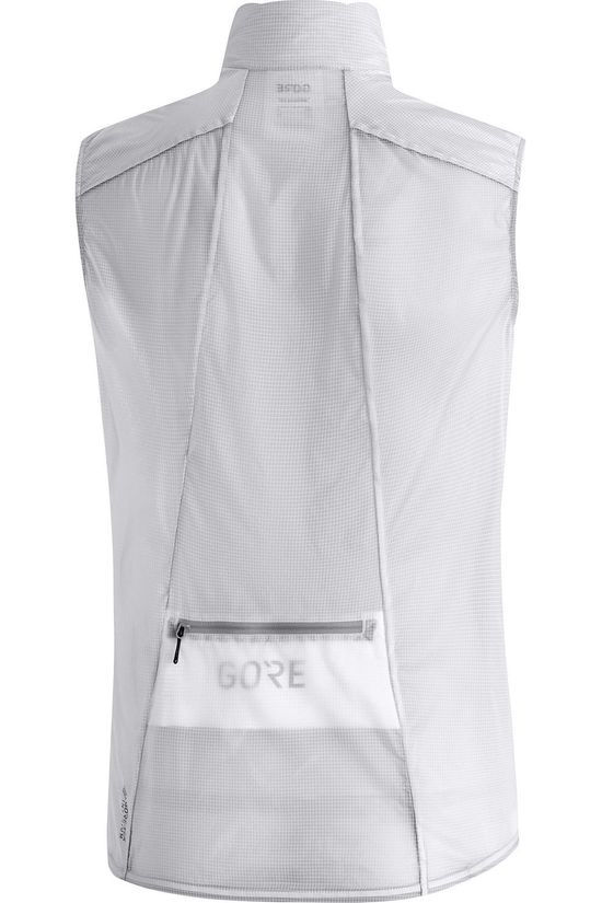 Gore Wear Windstopper Drivevest Wit
