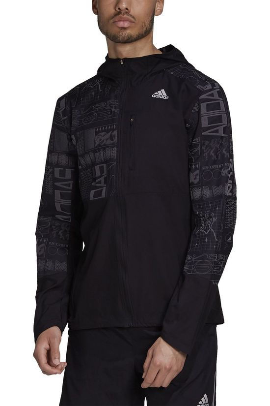 Adidas Coupe-Vent Own The Run Jacket Noir