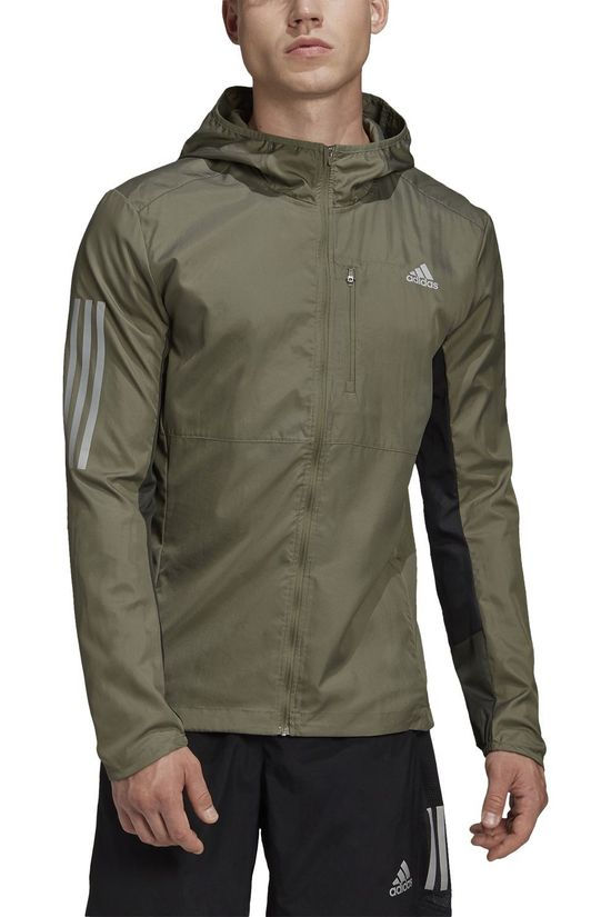 Adidas Windstopper Own The Run Jacket green