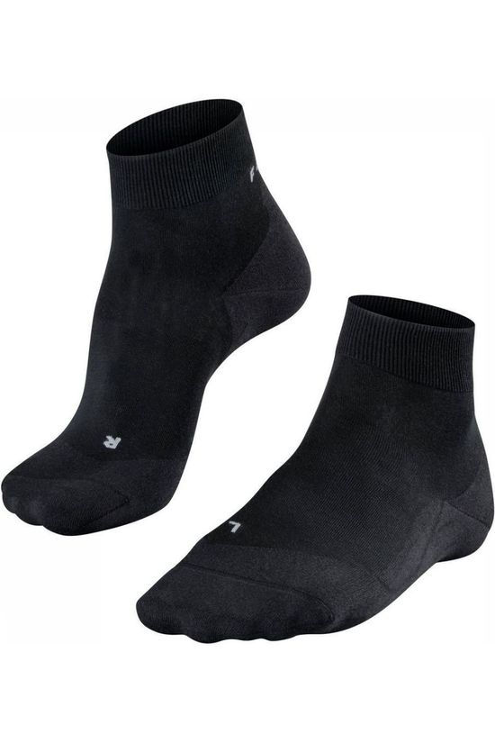 Falke Sock Ru4 Light black/dark grey
