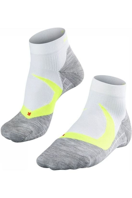 Falke Sock Ru4 Cool white/yellow