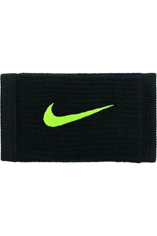 Nike Equipment Polsband Nike Dri-Fit Reveal Double Wide Zwart/Geel
