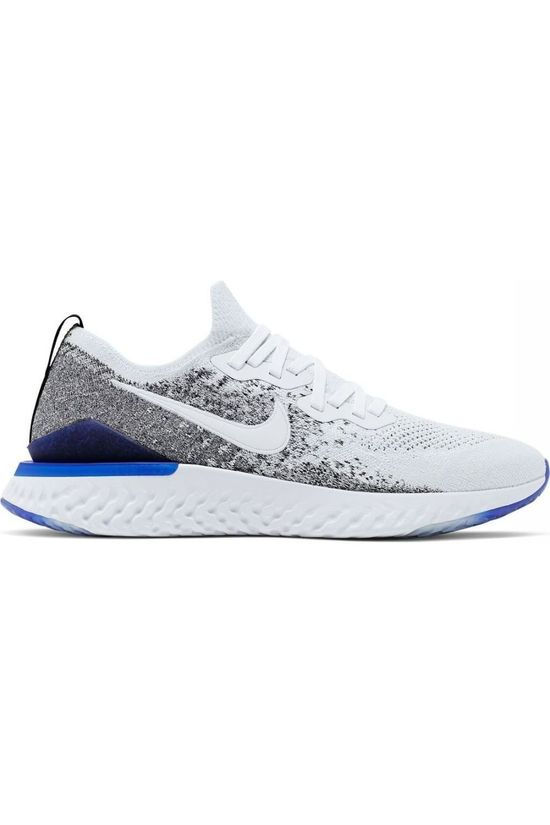 Nike Shoe Epic React Flyknit 2 white/black