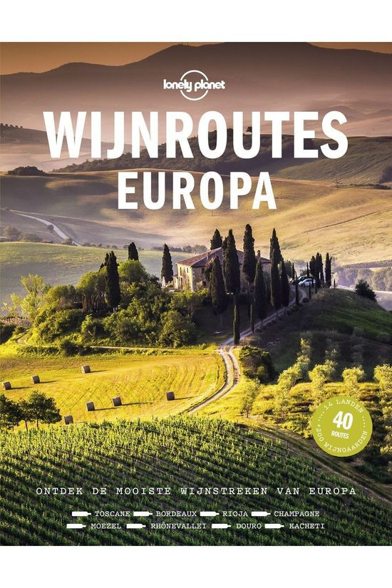 Kosmos Wijnroutes Europa Lonely Planet 2020