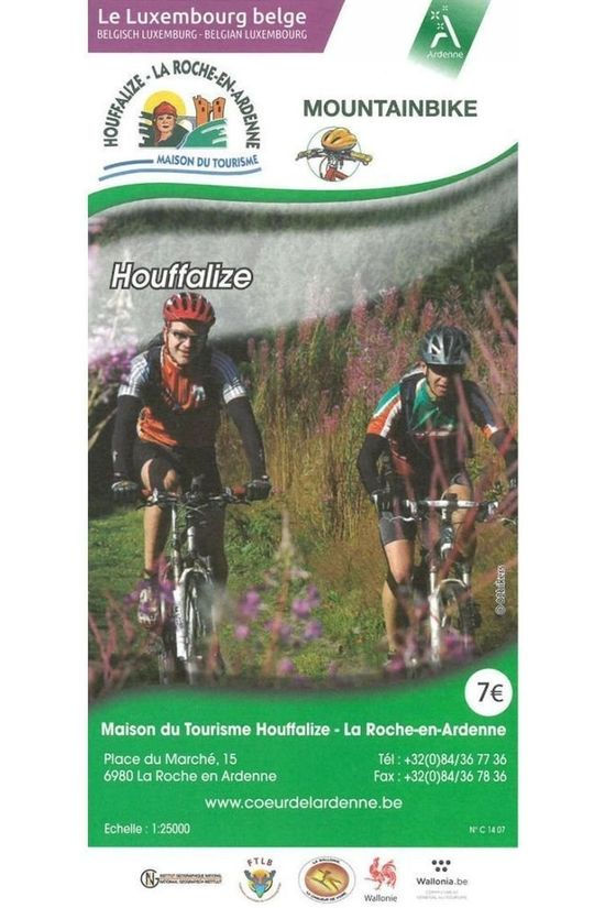 NGI Kaart Houffalize Mountainbike B.TOE.055 2015