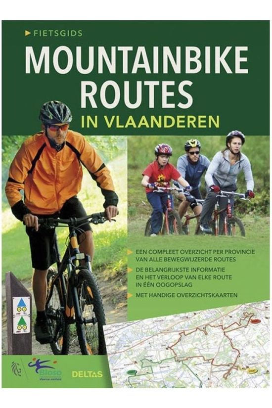 Deltas Reisboek Mountainbikeroutes in Vlaanderen 2015