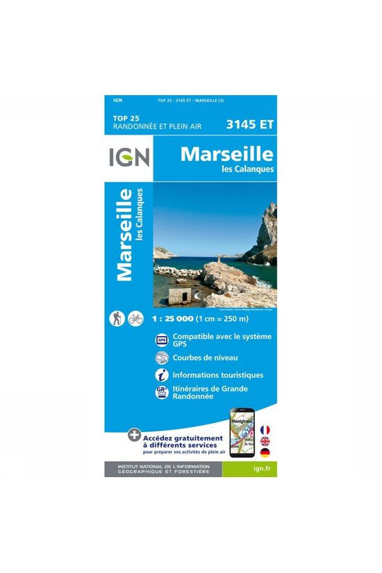 IGN Marseille / Les Calanques 2017