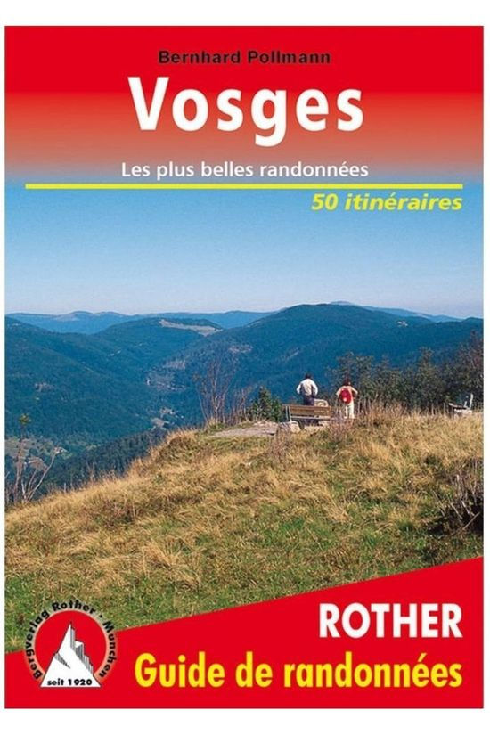 Rother Vosges guide rando 51T GPS 2019