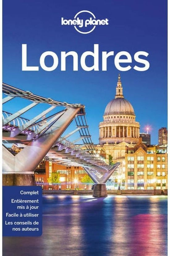 Lonely Planet Londres 10 + Carte 2018