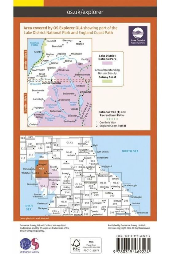 Ordnance Survey Western Area Active Exp Gepl. 2015