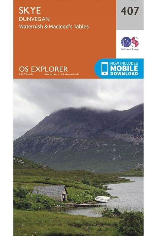 Ordnance Survey Skye / Dunvegan 2015