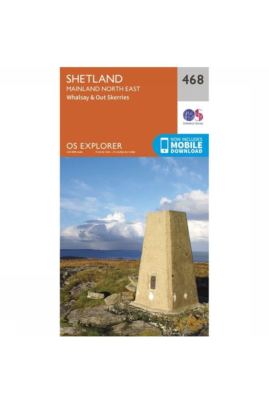 Ordnance Survey Shetland / Mainland North East 2015