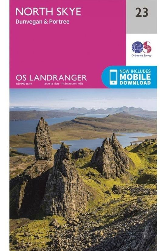 Ordnance Survey North Skye Landr 23 2016