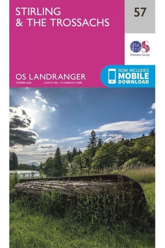 Ordnance Survey Stirling / The Trossachs Landr 57 2016