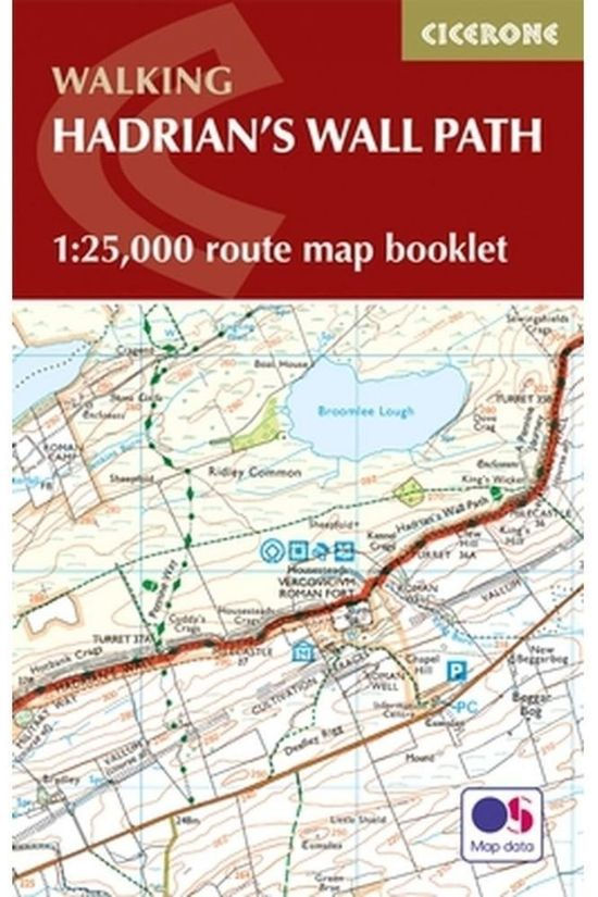 Cicerone Hadrian'S Wall Path Map Booklet 2018