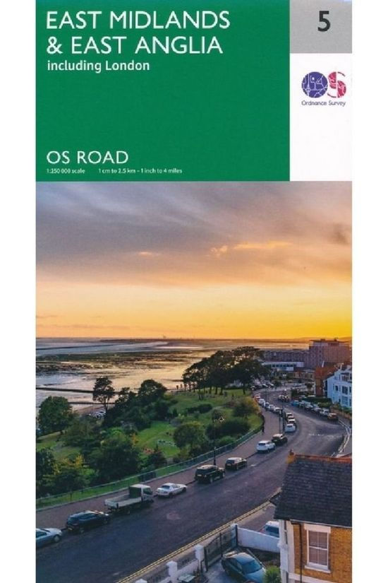 Ordnance Survey Midlands East / East Anglia 2020