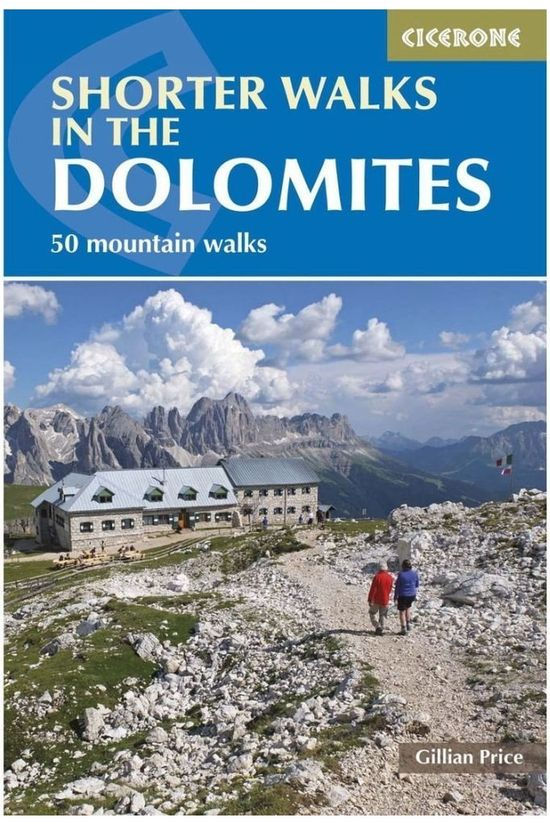 Cicerone Reisboek Dolomites shorter walks 50 selected walks 2019