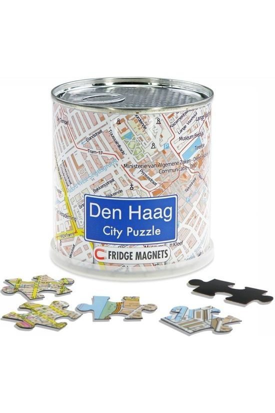 EXTRAGOODS Den Haag City Puzzle Magnets 2016