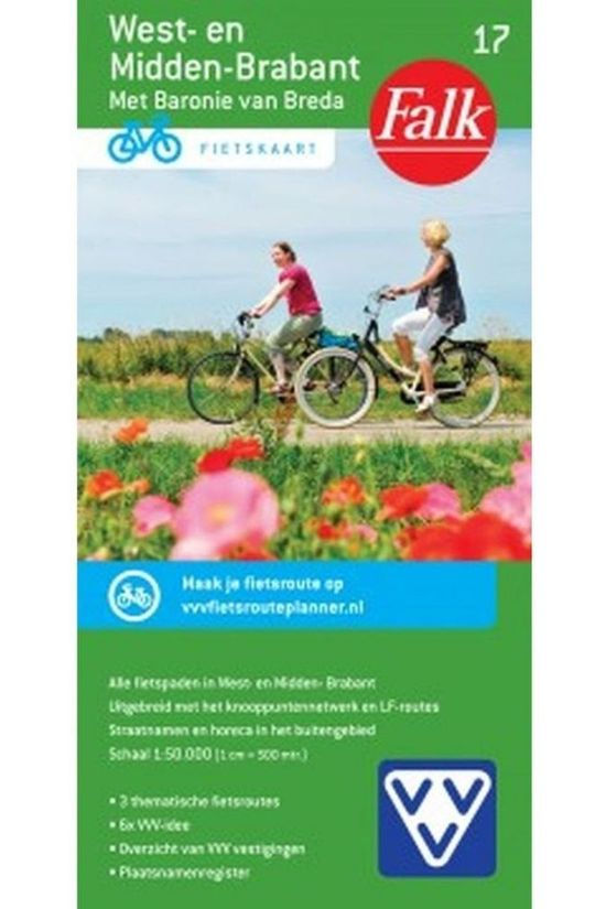 Falk West-en Midden Brabant 17 cycle map 2017