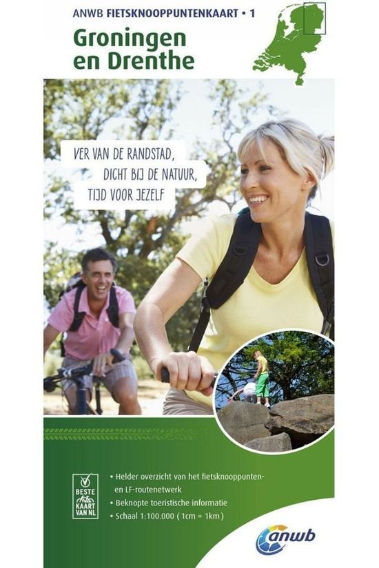 ANWB Groningen And Drenthe Bicycle Junction Maps 2019